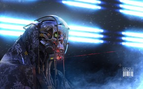 Картинка робот, андроид, Igor Sobolevsky, Infiltrator MKII DCLXVI