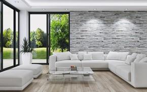 Обои дизайн, style, living room, гостиная, design, interior, интерьер, стиль