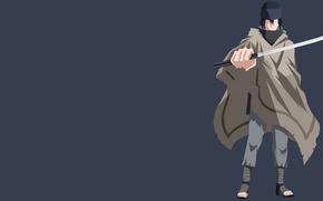 Картинка japanese, katana, by darkfate1720, blade, manga, ninja, shinobi, Uchiha Sasuke, asian, weapon, asiatic, ken, doujutsu, ...