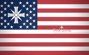 Картинка red, game, Far Cry, star, blue, stripes, cross, stars, faith, flag, cult, religion, motto, Far ...