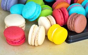 Картинка сладость, выпечка, пирожные, Макароны