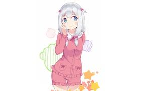 Картинка kawaii, bear, blush, anime, asian, manga, japanese, oriental, asiatic, sugoi, bishojo, light novel, kuma, EroManga-Sensei, …