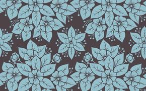 Обои цветы, обои, текстура