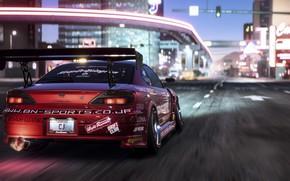Обои Electronic Arts, tuning, Nissan, Silvia, NFS, Need For Speed Payback