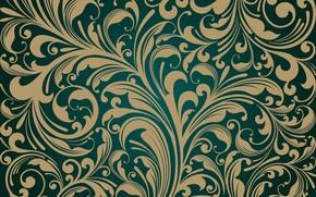 Обои ретро, обои, вектор, design, винтаж, pattern, Decorative