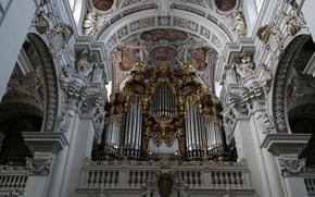 Картинка Германия, Бавария, орган, кафедральный собор, Пассау, Собор Святого Стефана