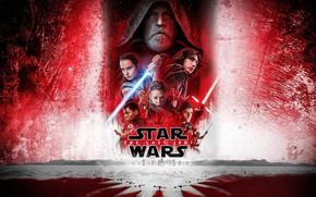 Обои постер, Oscar Isaac, Carrie Fisher, Звёздные войны: Последние джедаи, Star Wars: The Last Jedi, Дэйзи ...