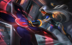 Картинка Арт, Splash, League of Legends, LoL, Artwork, Лига Легенд, Sivir, Сивир, Neo PAX