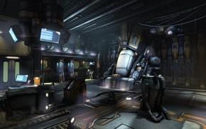 Картинка лаборатория, помещение, оборудование, аппарат, Cryochamber Environment