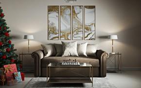 Картинка мебель, интерьер, шахматы, помещение, Living room (Saints Petersburg)
