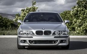 Картинка BMW, Classic, Legend, E39, Silver
