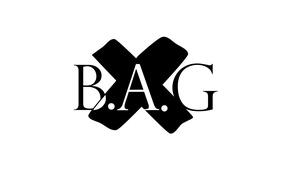 Картинка абстракт, аббревиатура, минимазизм, Bag