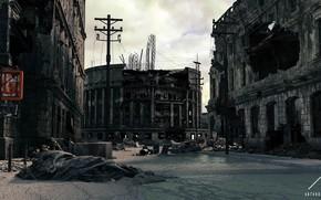 Картинка разрушения, Failed State, city destroyed