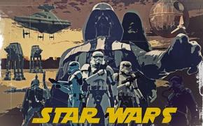 Картинка Star Wars, звездные войны, постер