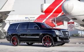 Картинка Cadillac, Escalade, Airport