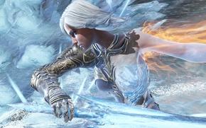 Картинка девушка, лёд, Aurora, Paragon