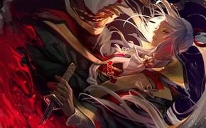 Картинка аниме, арт, парень, Fate / Grand Order