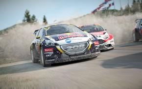 Картинка car, game, Dirt, race, speed, fast, RedBull, Dirt 4