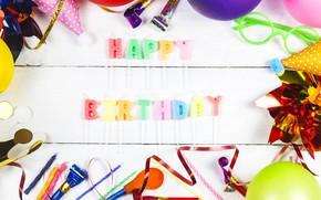 Картинка праздник, свечи, украшение, празднование, день рождение