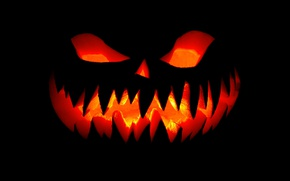 Картинка фон, испуг, тыква, хеллоуин