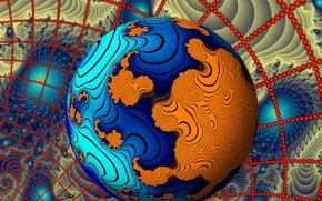 Картинка цвет, шар, форма