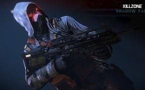 Картинка gun, game, Killzone, weapon, hood, Killzone Shadow Fall