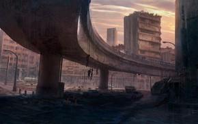 Обои Cartel Style, город, разрушения, смерть