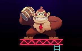 Картинка game, Nintendo, gorilla, Donkey Kong, 1981, Shigeru Miyamoto, Coleco