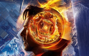 Картинка cinema, man, movie, hero, film, yuusha, Doctor Strange, mahou