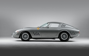 Картинка Ferrari, Race, GTB, Legend, 1964, 275, Silver, Italian