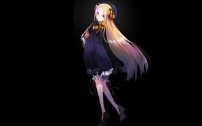 Картинка тьма, аниме, арт, девочка, Fate Grand Order, Судьба великая кампания, Abigail Williams, Foreigner