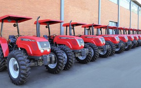 Картинка Brazil, tractor, made in Brazil, agricultural machinery, Agrale brand tractor, Agrale, Brazilian factory, gaucho factory, …