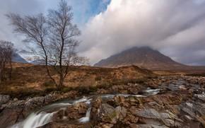 Обои Шотландия, Scotland, Buachaille Etive Mor