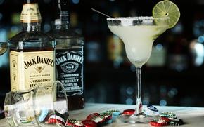 Картинка коктейль, лайм, виски, напиток