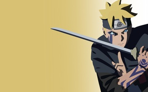 Обои sword, Naruto, seal, anime, katana, fight, ken, blade, ninja, asian, manga, shinobi, japanese, oriental, asiatic, ...