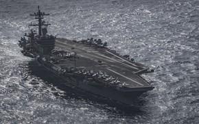 Картинка USS, aircraft carrier, Carl Vinson, CVN 70