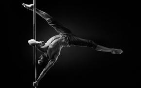 Картинка figure, muscles, Pole dance, herculaneum
