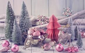Картинка украшения, шары, елка, Новый Год, Рождество, подарки, happy, Christmas, vintage, New Year, Merry Christmas, Xmas, …