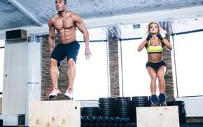 Картинка jump, workout, fitness