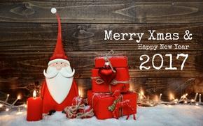 Картинка снег, Новый Год, Рождество, wood, merry christmas, decoration, xmas