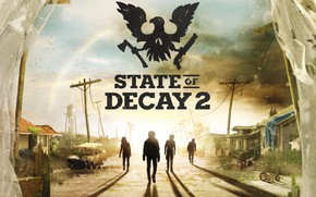Картинка city, logo, game, undead, State of Decay, State of Decay 2, zobie