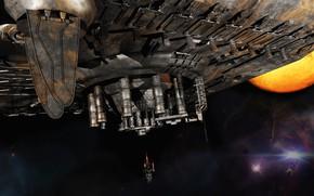 Картинка космос, планета, звёзды, indie, 2346
