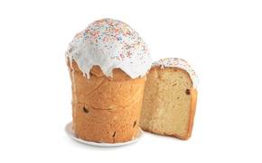 Картинка Пасха, кулич, выпечка, сладкое, глазурь, Easter, изюм, Holidays, Baking