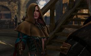 Картинка чародейка, Трисс Меригольд, Triss Merigold, Ведьмак 3 Дикая Охота, The Witcher 3