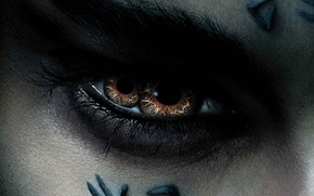 Обои cinema, monster, eyes, movie, tatoo, film, Sofia Boutella, bakemono, The Mummy