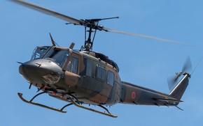 Картинка Ирокез, многоцелевой вертолёт, UH-1J