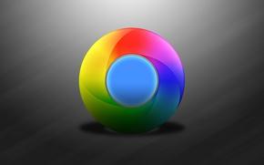 Обои браузер, логотип, эмблема, Google, компьютер, Chrome, windows