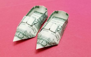 Картинка фон, Долларовый счет, низкие каблуки