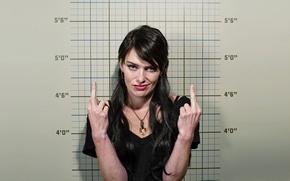 Обои актриса, Dredd, Dredd 3D, Lena Headey, Лена Хиди, кинопробы