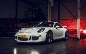 Картинка 911, Porsche, GT3, White